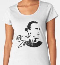 Dare To God! Women's Premium T-Shirt