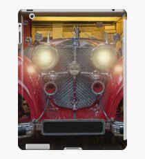 Oldtimer Garage iPad Case/Skin