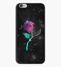 Vinilo o funda para iPhone Vitral Rose Galaxy
