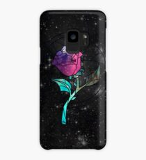 Stained Glass Rose Galaxy Case/Skin for Samsung Galaxy