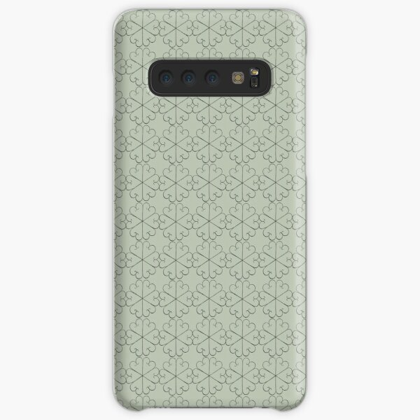 Metal Flowers small design for orchid fabric Samsung Galaxy Snap Case