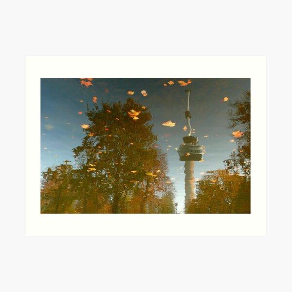 Autumn in Rotterdam Art Print