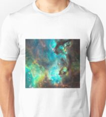 Green Galaxy Unisex T-Shirt