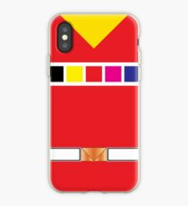 In Space Red iPhone Case