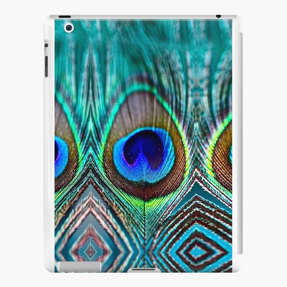 Pfauenfeder iPad-Hüllen & Klebefolien