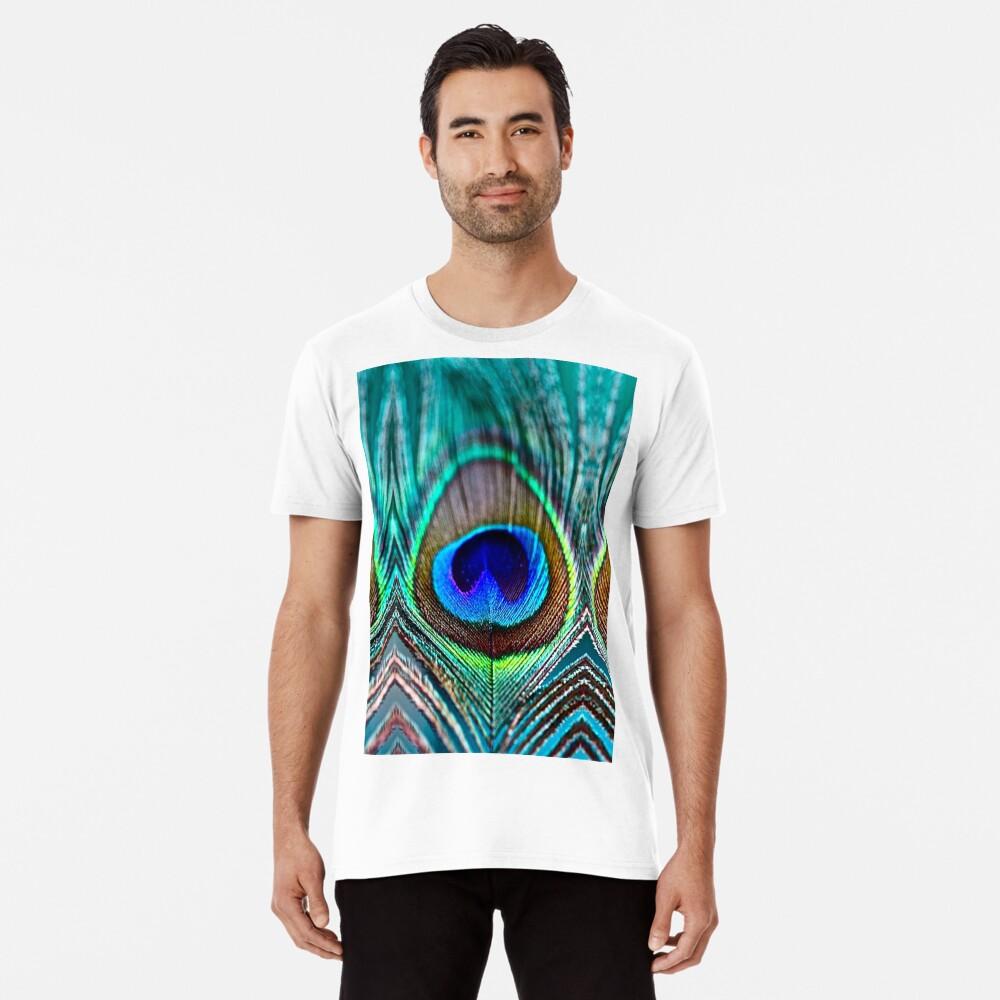 Pfauenfeder Premium T-Shirt