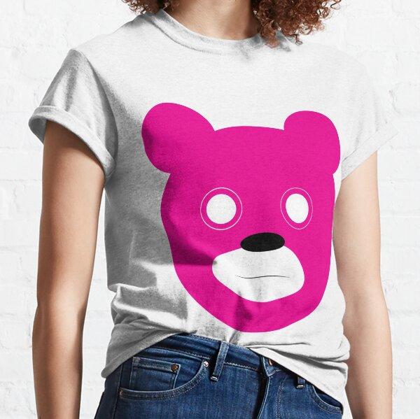 Stare bear -magenta Classic T-Shirt