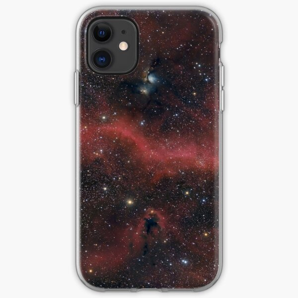 Pink Galaxy iPhone Soft Case