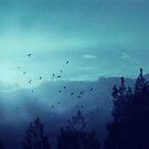 Spielerei Sunrise in the Alps by Dirk Wuestenhagen