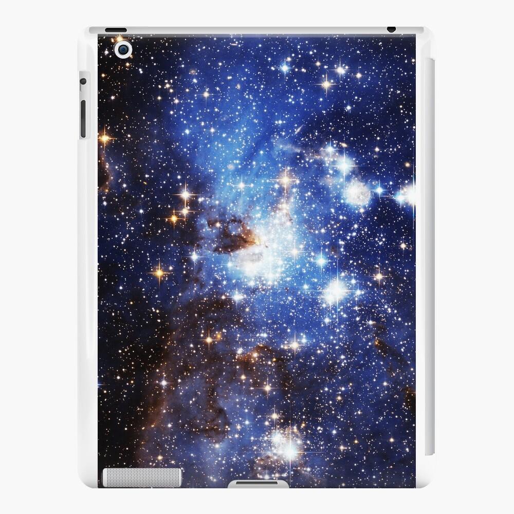 Blaue Galaxie 3.0 iPad-Hüllen & Klebefolien