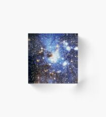 Blue Galaxy 3.0 Acrylic Block