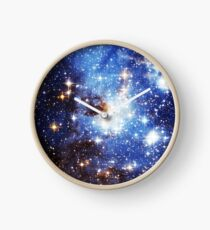 Blue Galaxy 3.0 Clock