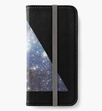 Blue Galaxy Triangle iPhone Wallet/Case/Skin
