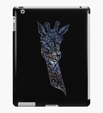 Blue Space Giraffe iPad Case/Skin