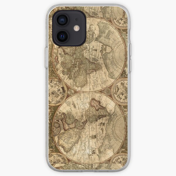 Ancient Map iPhone Soft Case
