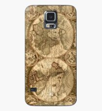 Ancient Map Case/Skin for Samsung Galaxy