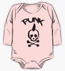 Punk Langärmeliger Einteiler