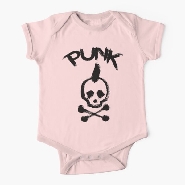 PuNk Short Sleeve Baby One-Piece