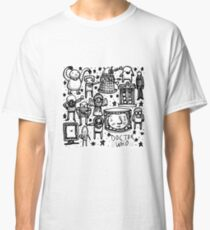 Doctor Who doodle Classic T-Shirt