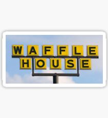Waffle House Sign Sticker