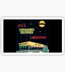 Waffle House Christmas Sticker