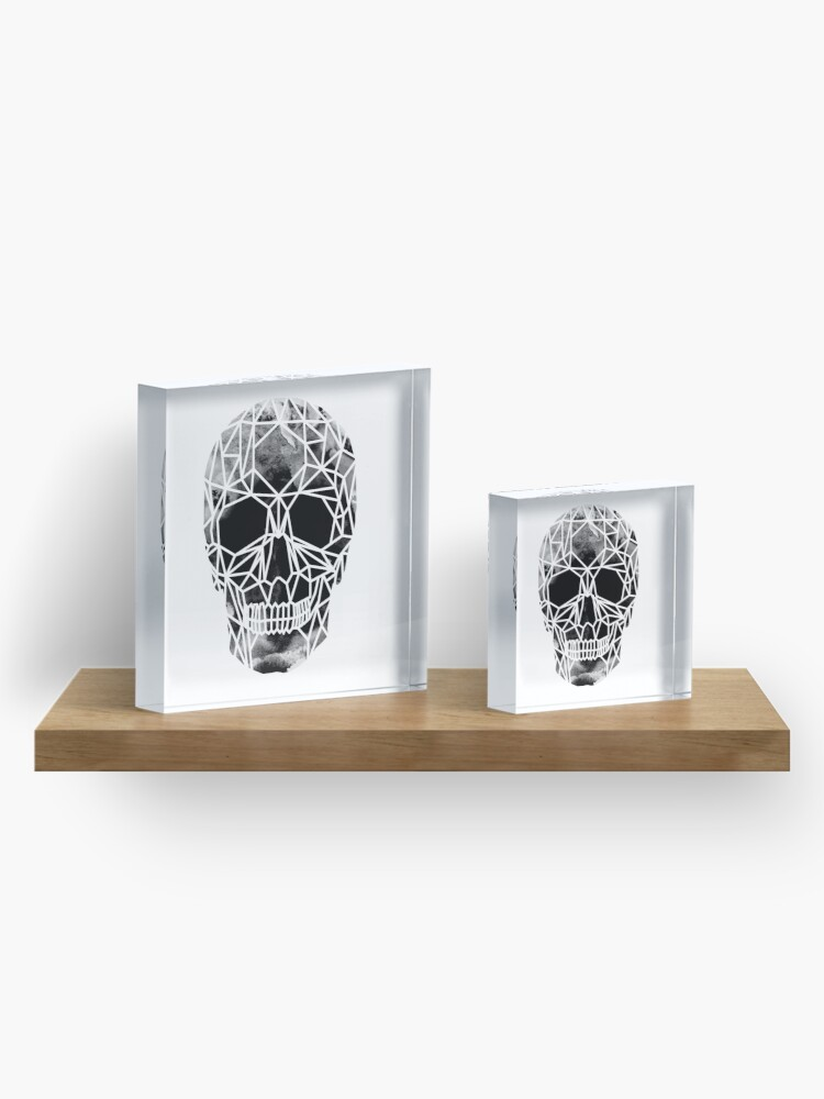 Alternate view of Crystal Skull Infrared Acrylic Block
