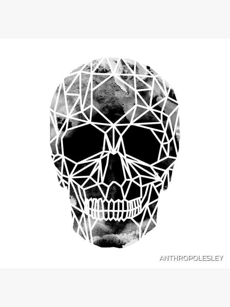 Crystal Skull Infrared by ANTHROPOLESLEY