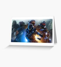 Halo Reach  Greeting Card