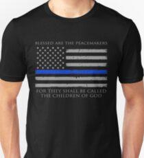 Gesegnet sind die Friedensstifter Unisex T-Shirt