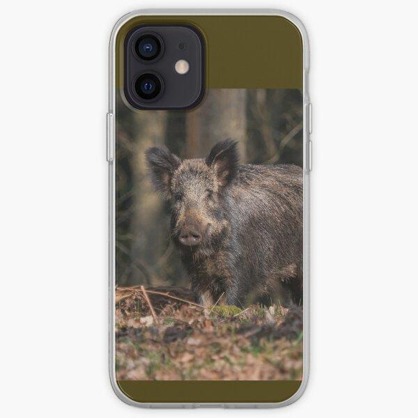 Wild Boar Sow iPhone Soft Case