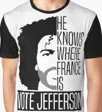 Vote For Jefferson Graphic T-Shirt