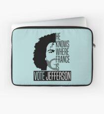 Vote For Jefferson Laptop Sleeve