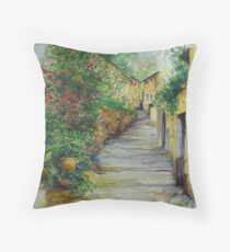 The Balearics, typical Old Spain Throw Pillow