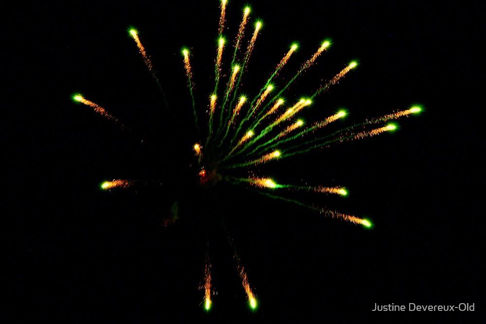 fireworks! by Justine Devereux-Old