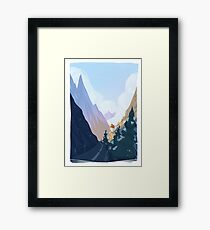 Norway - The Travellers Framed Print