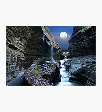 Rainbow Waterfalls Photographic Print
