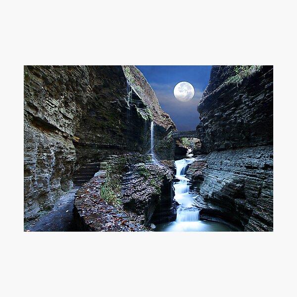 Rainbow Waterfalls Photographic Print