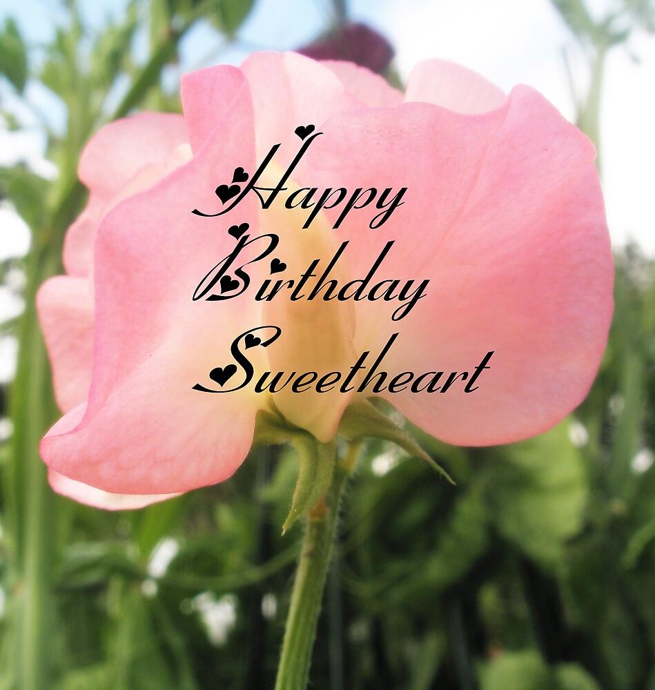 Sweet Pea happy birthday by Melissa Park