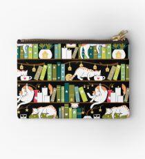 Library cats Zipper Pouch
