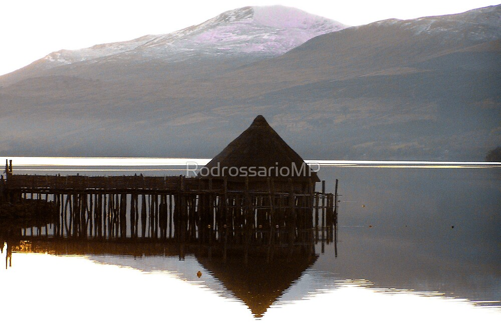 The Crannog on Loch Tay by RodrossarioMP