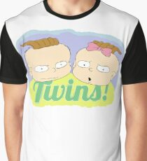 Twins Phil and Lil Graphic T-Shirt