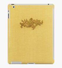 Vintage book cover with flower bouquet iPad Case/Skin