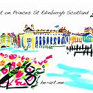 Art in Edinburgh, Museums from Princes Gardens by Helen Imogen Field