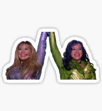Lizzie Mcguire and Isabella in Lizzie Mcguire Movie Sticker