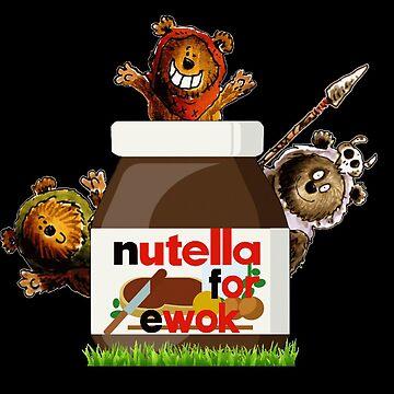Ewoks dream of Nutella! by Sirocco88