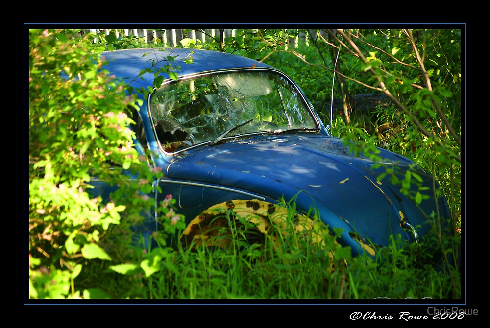 Blue Buggy. by ChrisRowe