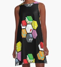 Nintendo Cubed A-Line Dress