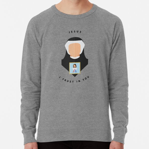 St. Faustina Lightweight Sweatshirt