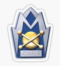 Rimmer badge Sticker