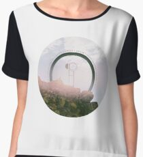 hippo campus south Chiffon Top